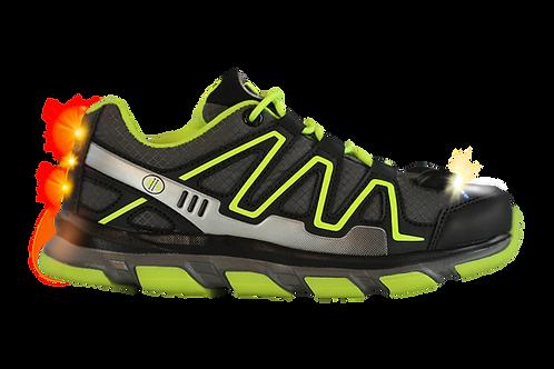 Explorer Kid's LED Light Shoes (Black)