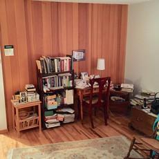 Unorganized Bedroom Before Redesign