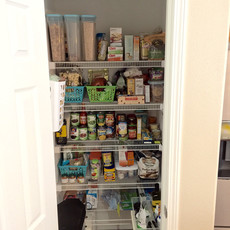 Organized Kitchen Pantry After Redesign