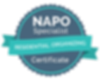 NAPO Specialist Badge - Residential Orga