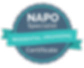 NAPO Specialist Badge - Residential Orga