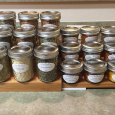 Organized Loose Spice Storage After Containerizing