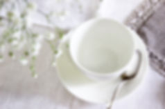Canva - White Ceramic Tea Cup With Sauce