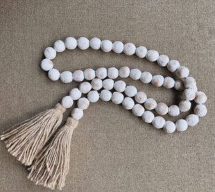 clay bead garland with tassel.JPG