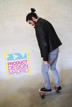 Product Design Madrid Skateair