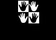 ManyHands_NewLogo - Black Transparent.pn