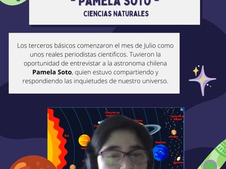 ENTREVISTA A ASTRONOMA PAMELA SOTO