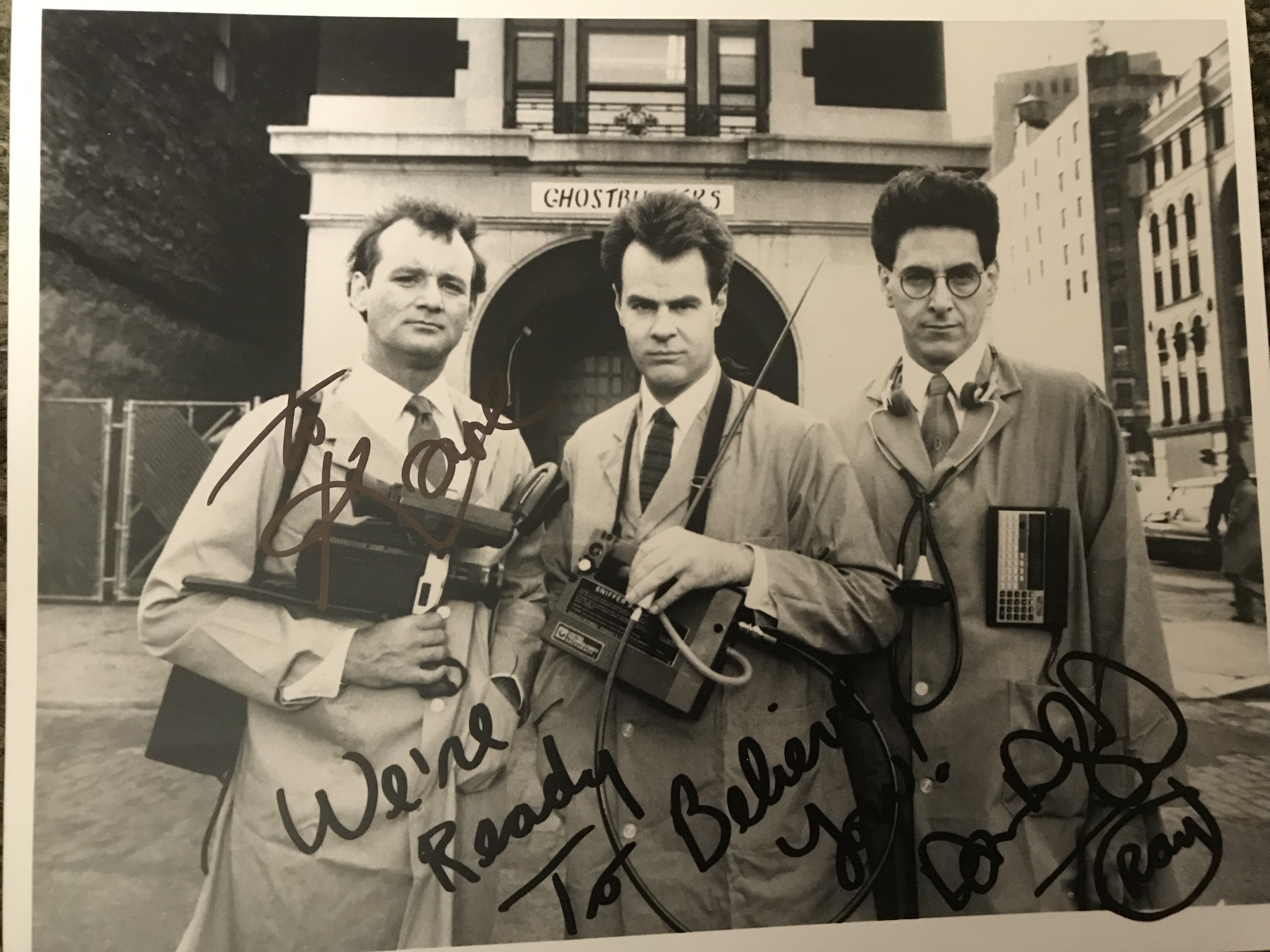 A GIFT FROM DAN AYKROYD