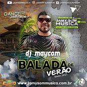 capa cd balada de verão 2021 dj maycom.j