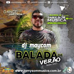 capa cd balada de verão 2021 dj maycom