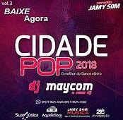cd oficial cidade pop 2018 novo dj mayco