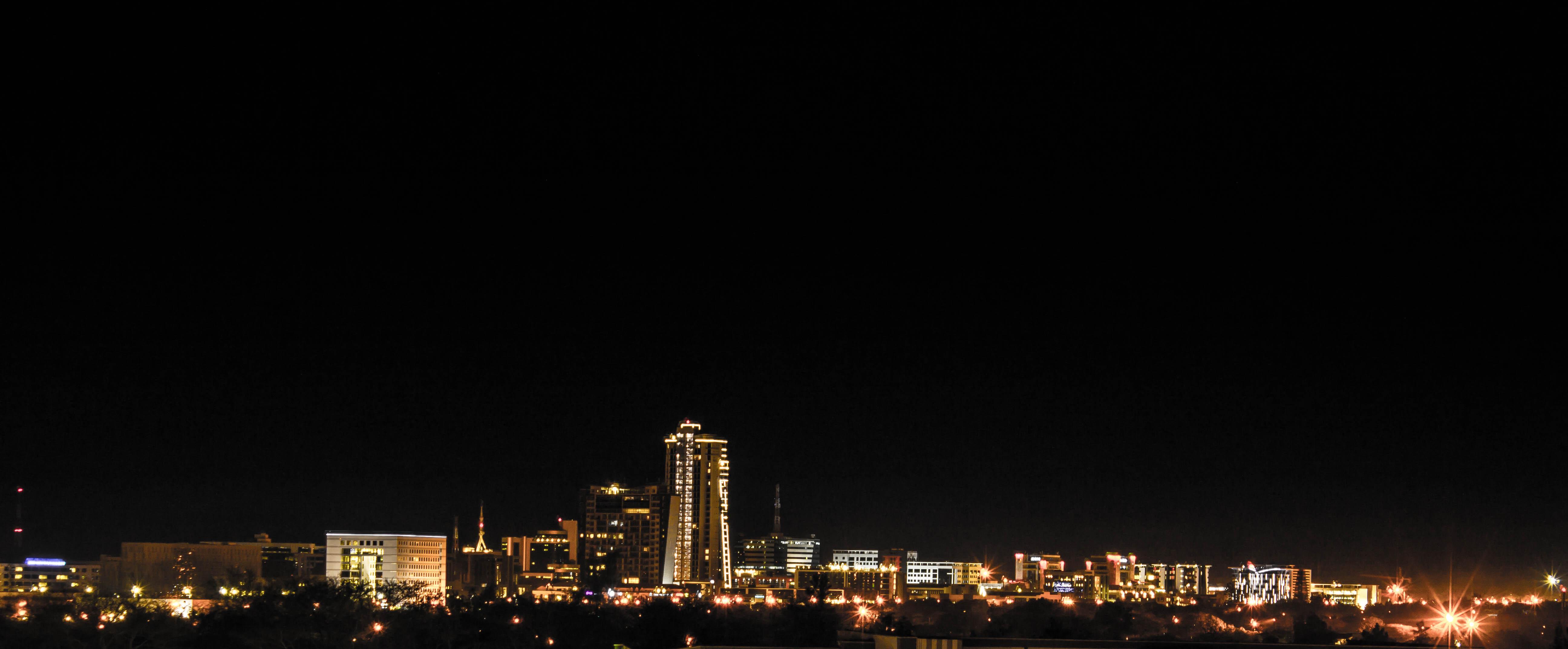 Night view CBD