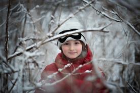 Children Photography Toronto - Ice portrait