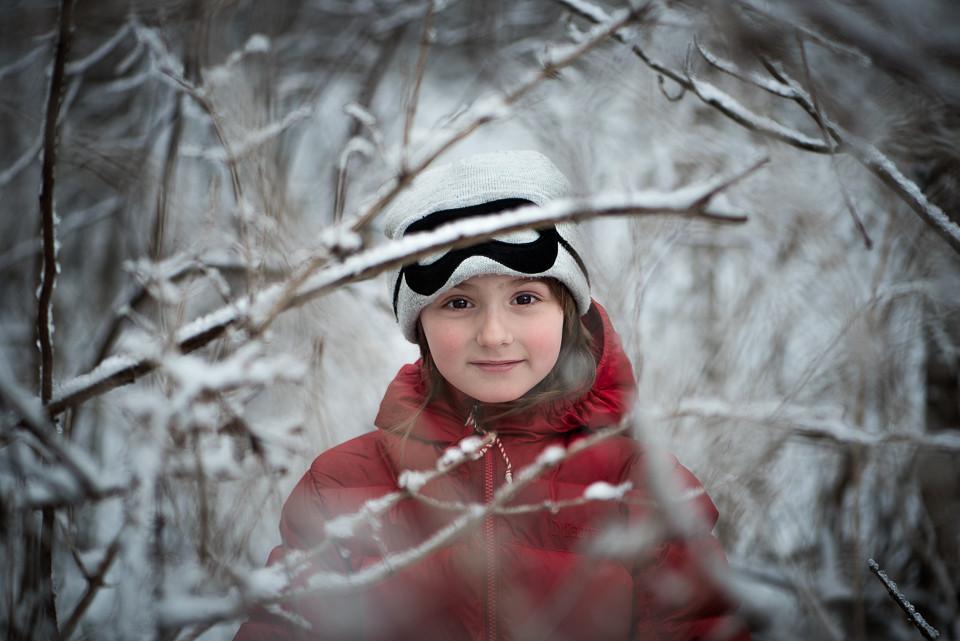 Toronto Ice Children Portrait