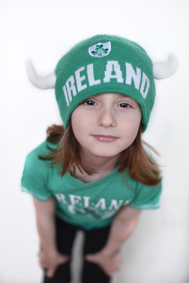 Everyone's a little bit irish today