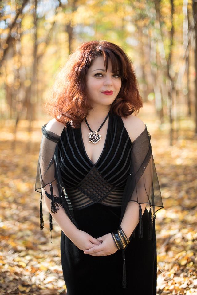 Autumn Beauty Portrait
