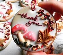 来週で今の会社を退職するので、感謝を込めて._#サンキュークッキー 作りました。