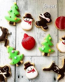 キッズ向け クリスマス アイシングクッキー