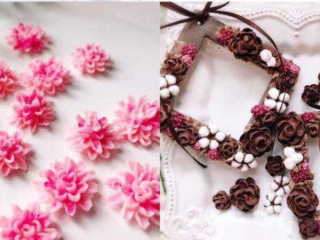 季節のお花を3回で学ぶお花好きのためのコース継続レッスンⅡ