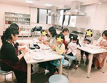 コープカルチャー親子マシュマロフォンダント講座でした。_._#富士見市 #みずほ