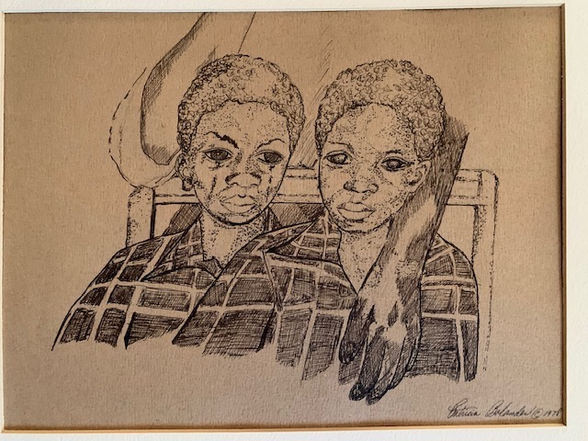 """Patricia Watkins Dick """"ALL LIVES MATTER"""" Ink 8x10 matted $200"""