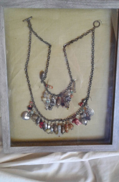 "Pat Fisher ""TREASURE NECKLACE"" Hard/soft metal NFS"