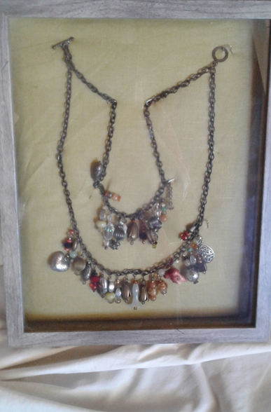 """Pat Fisher """"TREASURE NECKLACE"""" Hard/soft metal NFS"""