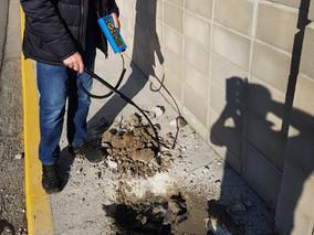 Detección fuga de agua con equipo SDT de ultrasonido