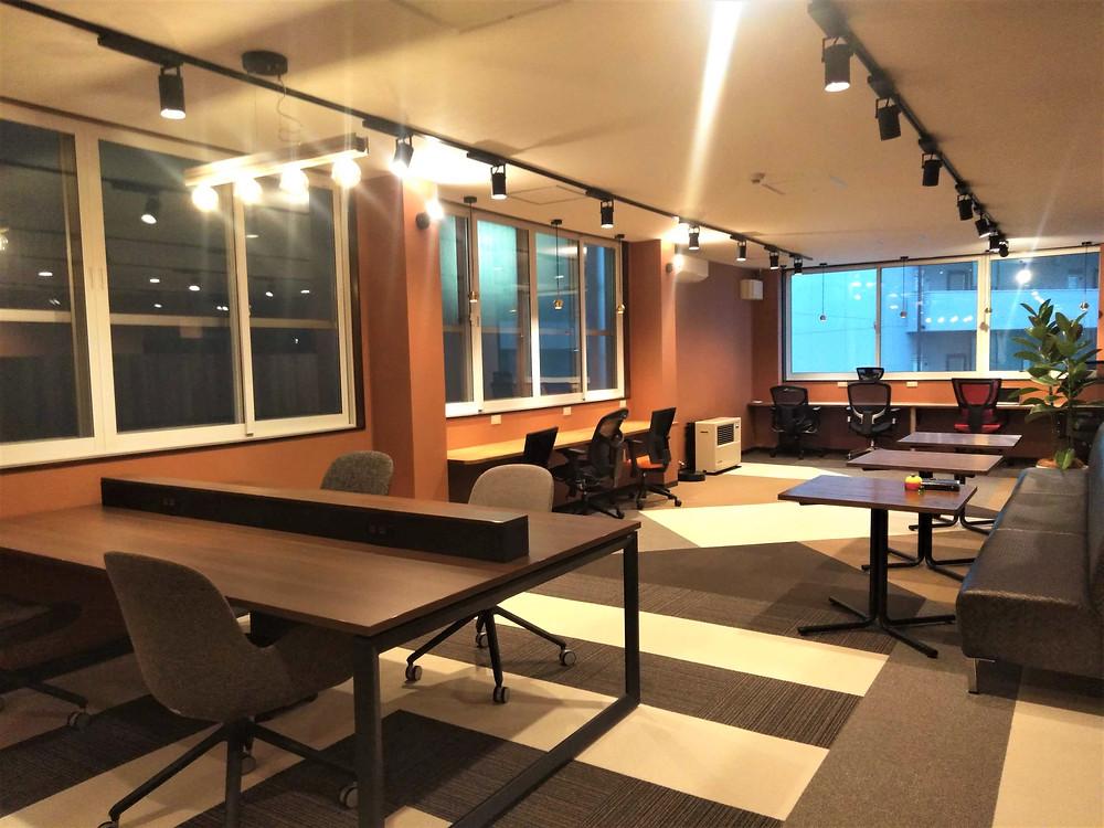 OLUCK2階 オフィススペース