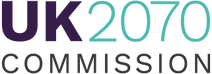 The logo for UK2070 Commission