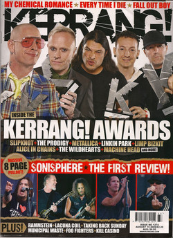Kerrang awards 09 front cover