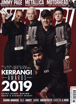 Kerrang awards cover 26.06.19