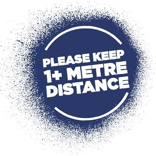 2M Distance Please Interior Floor Disc - From £2.85 ex VAT