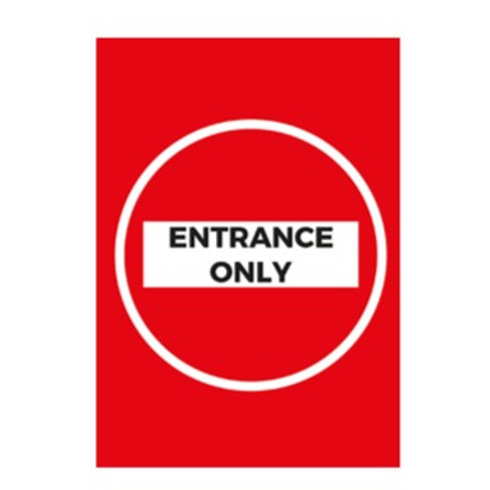 Entrance Only Interior Poster - From £1.11 ex VAT