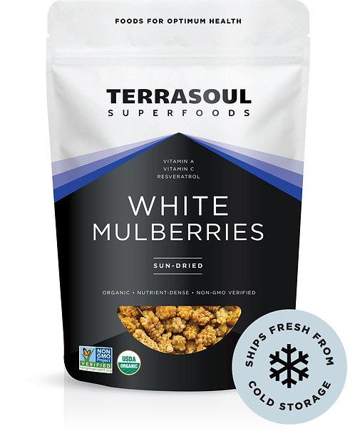 Terrasoul - White Mulberries (5oz)