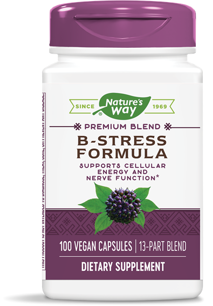 Nature's Way - B-Stress Formula (100 Capsules)