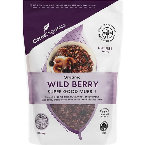 CeresOrganics - Wild Berry SuperGood Muesli