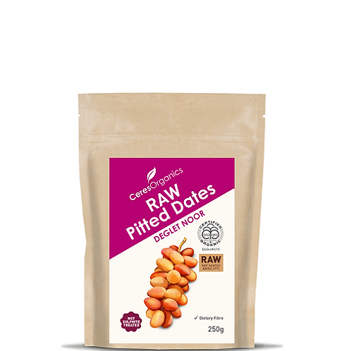 Ceres Organics -Raw Pitted Dates 250g