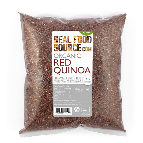 RealFoodSource - Organic Red Quinoa (1kg)