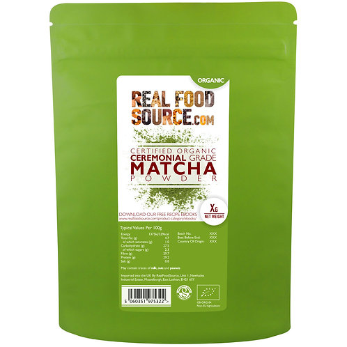 RealFoodSource - Organic Matcha Powder (100g)