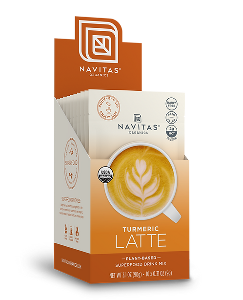 Navitas Organics - Turmeric Latte (12.8oz)
