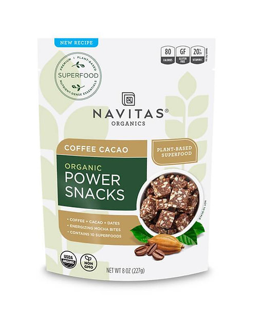 Navitas Organics - Coffee Cacao Power Snacks (8oz)