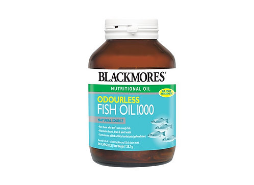 Blackmores - Odourless Fish Oil 1000 (90 Calsules)