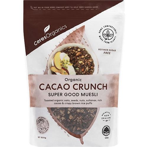 CeresOrganics - Cacao Crunch Super Good Muesli (525g)