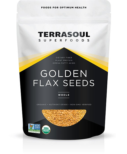 Terrasoul - Golden Flax Seeds (32oz)