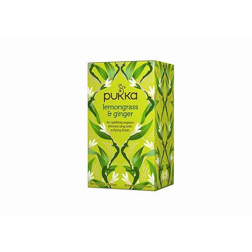 Pukka - Leamongrass & Ginger