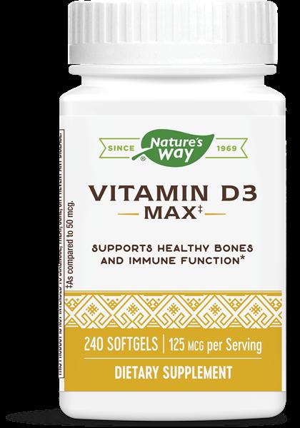 Nature's Way - Vitamin D3 (240 Softgels)