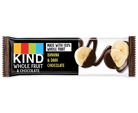 KIND - Banana & Chocolate x12 bars