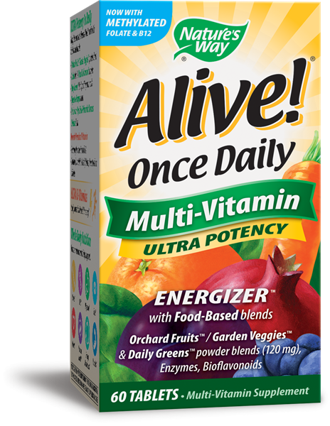 Nature's Way - Multi-Vitamin Ultra Potency (60 tablets)