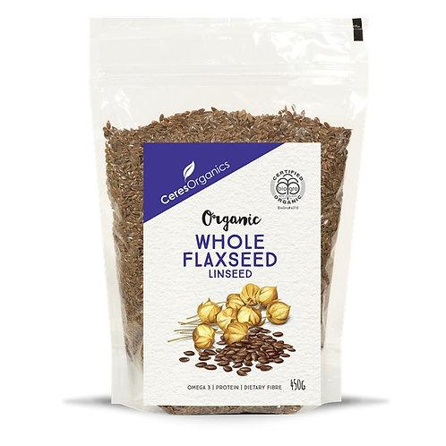CeresOrganic - Whole Flaxseed (450g)